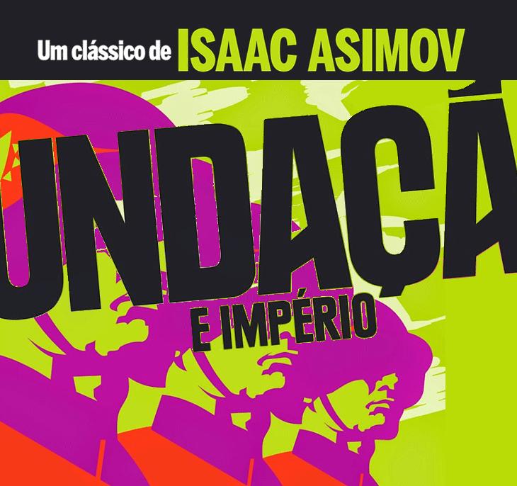 Livro Fundação é império capa Isaac Asimov