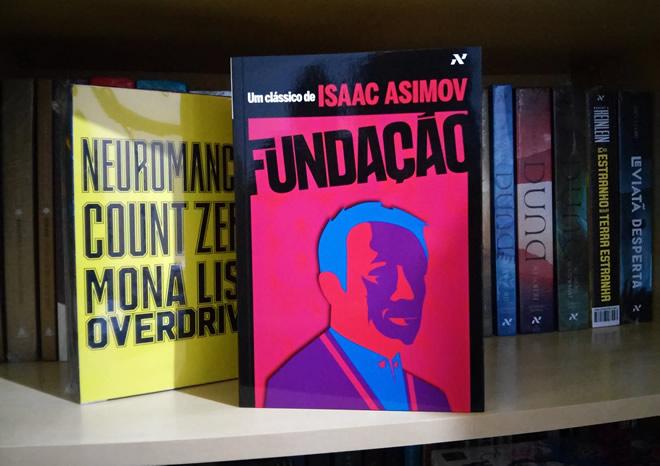 Livro Fundação Isaac Asimov Scifi