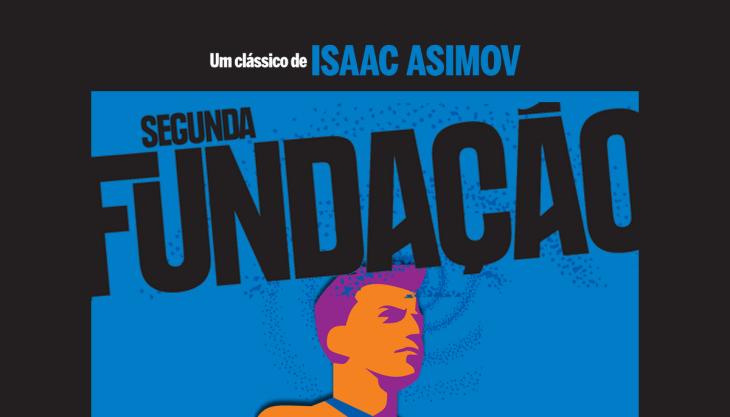 Capa livro Segunda Fundação Asimov