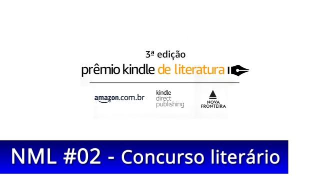 prêmio Kindle de Literatura 2018 Amazon