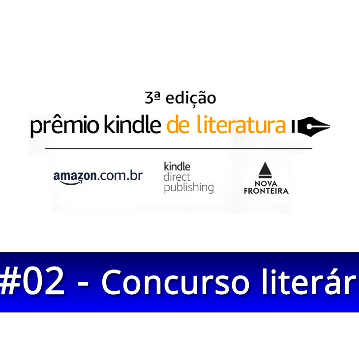prêmio Kindle de Literatura 2018 Amazon
