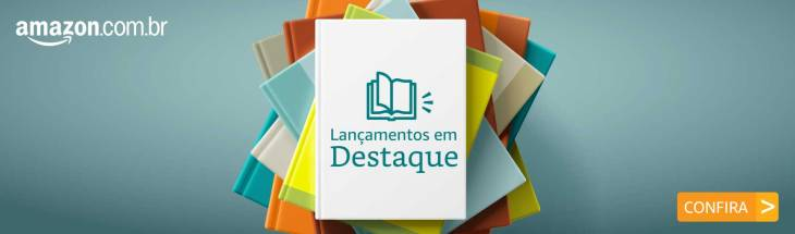 Banner Amazon Livros Lançamentos