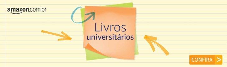 Amazon banner livros universitários