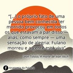 Citações Tolstói Leon Liev
