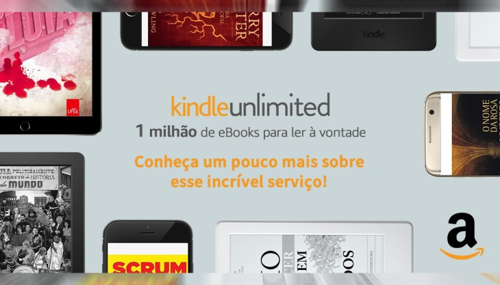 Kindle Unlimited Amazon Livros