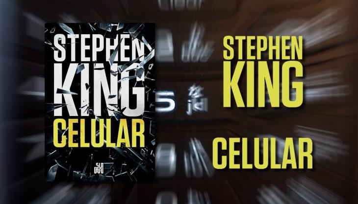 Capa livro Celular Stephen King