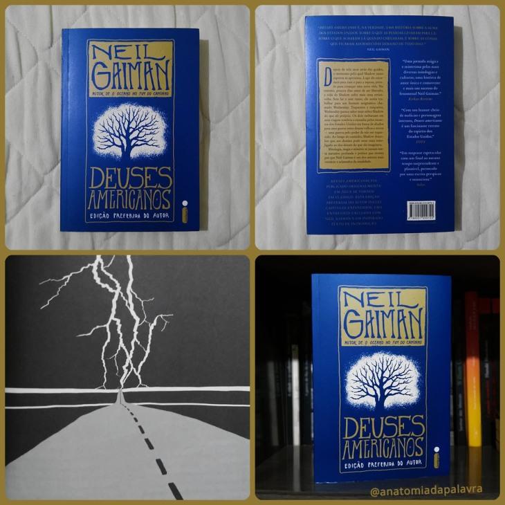 Livro Deuses Americanos Neil Gaiman Intrínseca
