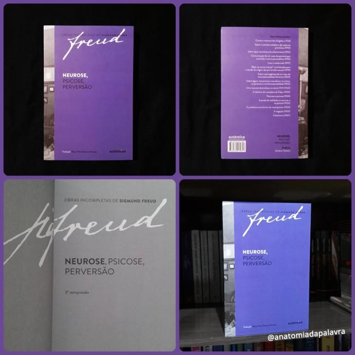 Livro Neurose, Psicose, Perversão Freud Autêntica