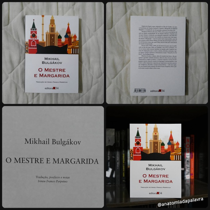 Livro O Mestre E Margarida Bulgákov Editora 34