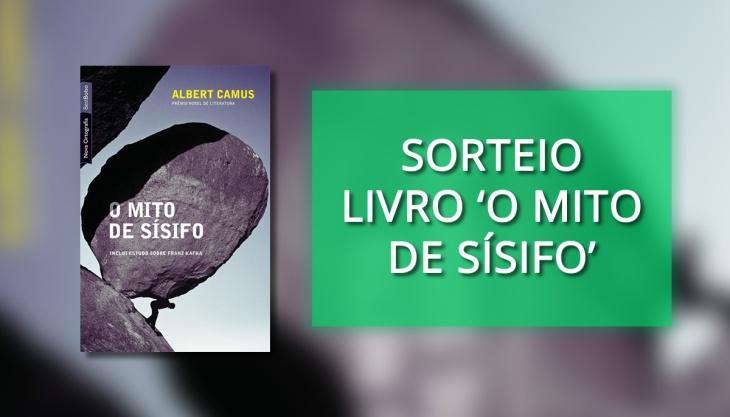 Livro Mito de Sísifo Sorteio Camus