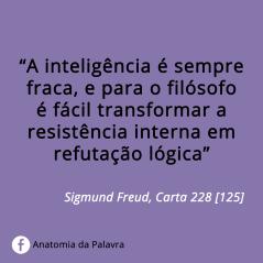 Citação de Sigmund Freud