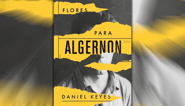 Flores para Algernon Livro Capa Aleph