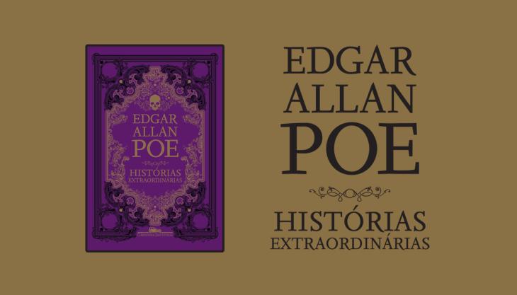 Livro Histórias Extraordinárias Capa Poe