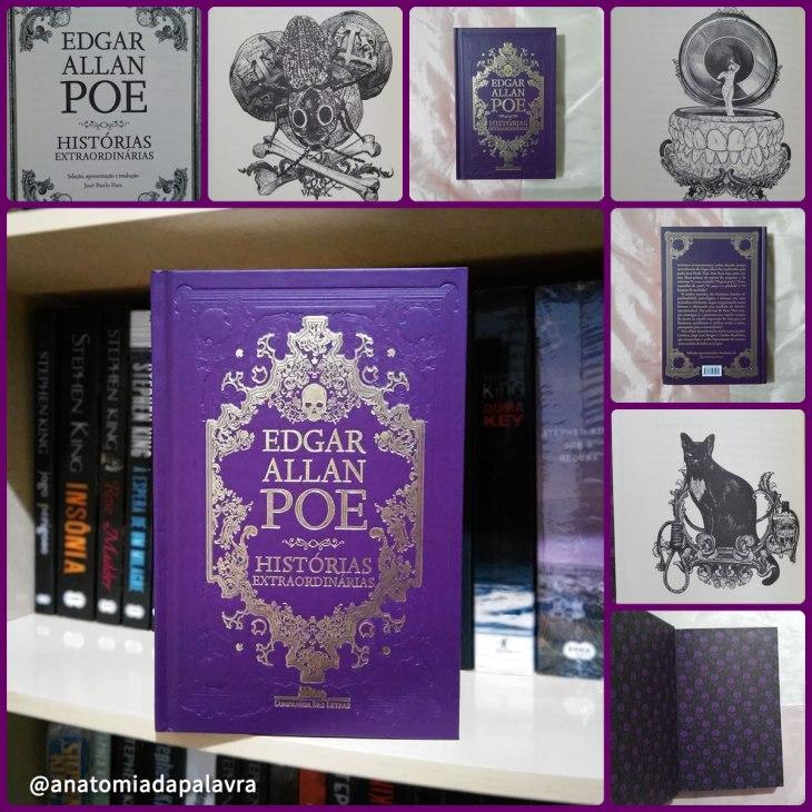Livro Histórias Extraordinárias Edgar Allan Poe