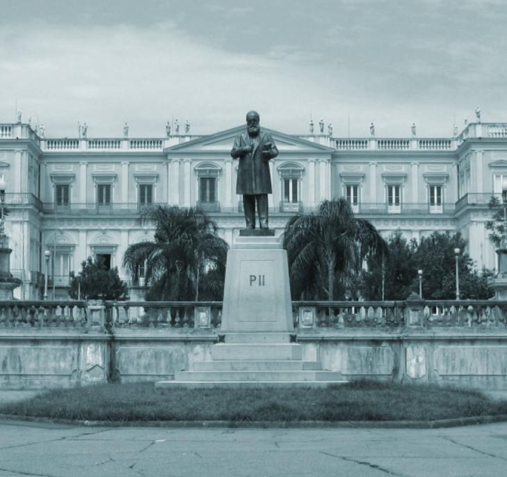 Museu Nacional do Rio de Janeiro Frente