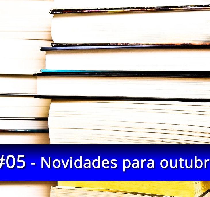 Livros outubro lançamentos novidades
