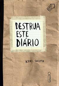 Livro Destrua Este Diário Capa