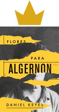 Flores para Algernon Capa Livro