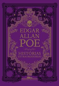 Histórias Extraordinárias Poe Capa Livro