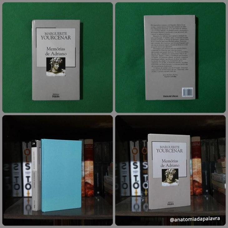 Livro Memórias de Adriano Marguerite Yourcenar