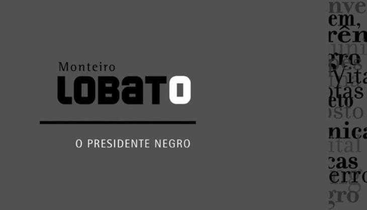Capa livro O presidente negro Monteiro Lobato