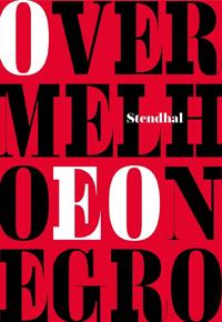 Capa do livro O Vermelho e o Negro, de Stendhal: edição da Martin Claret, tradução de Herculano Villas-Boas