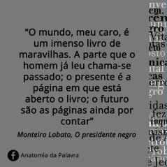Citações O Presidente Negro Lobato