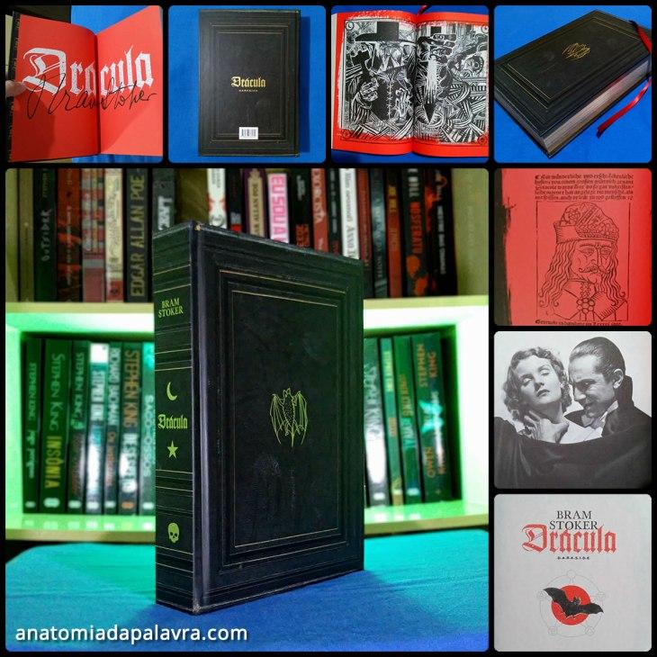 Livro Drácula edição DarkSide Books