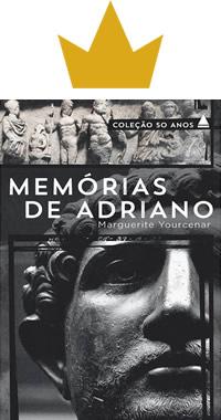 Livro Memórias de Adriano Capa