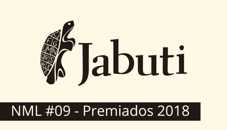 Logotipo oficial do Prêmio Jabuti 2018