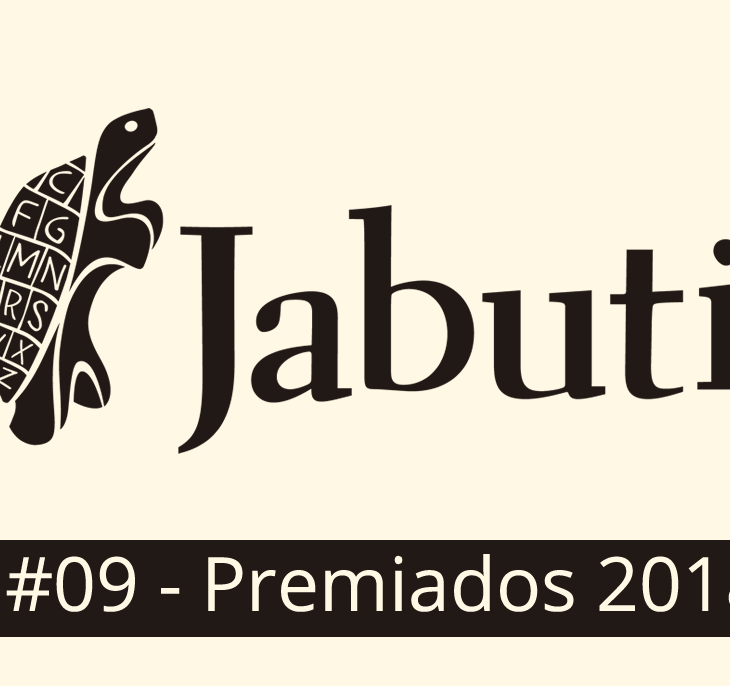 Logotipo oficial do Prêmio Jabuti 2018