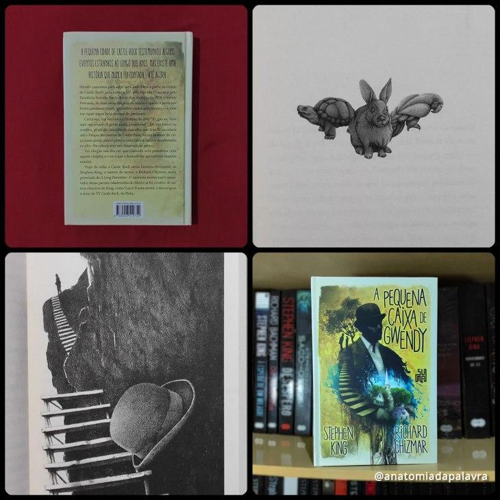 Livro A pequena caixa de Gwendy Stephen King