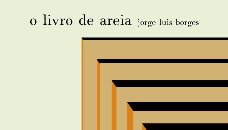 O Livro de Areia Jorge Luis Borges Capa