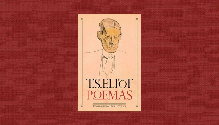 Livro Poemas T. S. Eliot Companhia das Letras