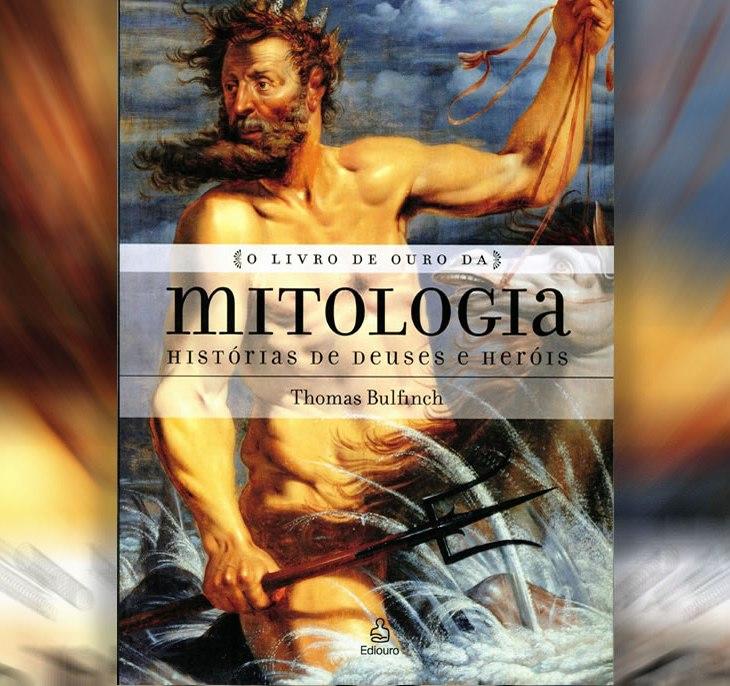 Capa do livro O livro de ouro da mitologia