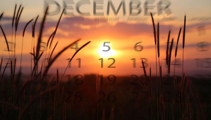 Pôr do sol dezembro Céu