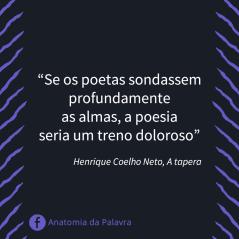 Citação Henrique Coelho Neto A Tapera