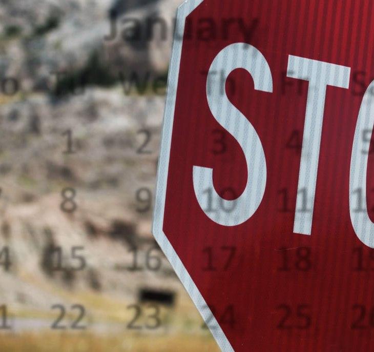 Placa de pare stop sign