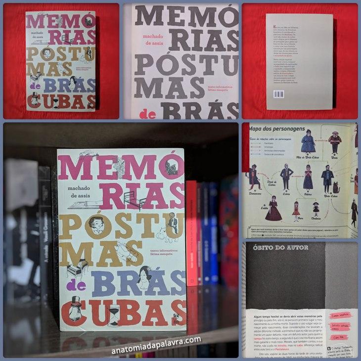 Livro Memórias Póstumas de Brás Cubas Panda Books