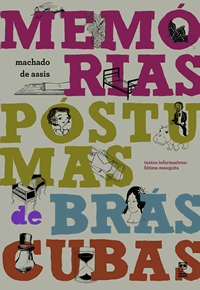 Capa do livro Memórias póstumas de Brás Cubas Panda