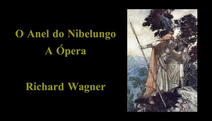 Capa do livro O Anel do Nibelungo