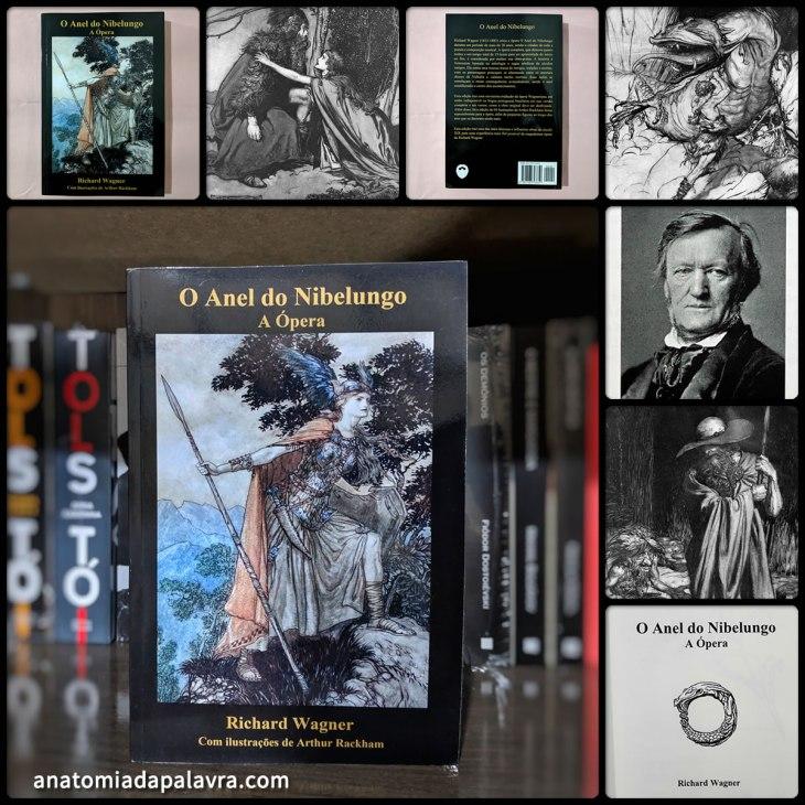 Livro O anel do Nibelungo Richard Wagner