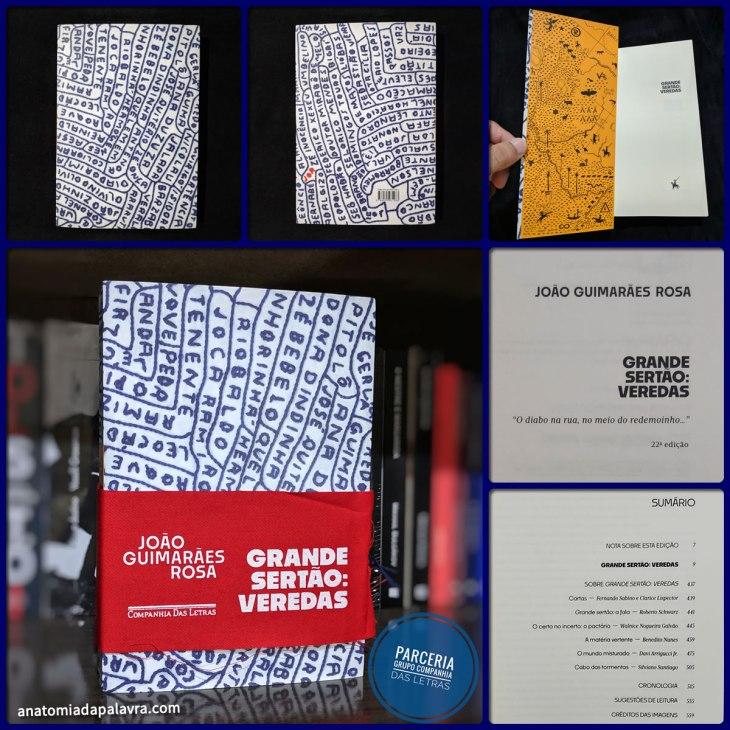 Livro Grande sertão: veredas, Edição Companhia das Letras 2019