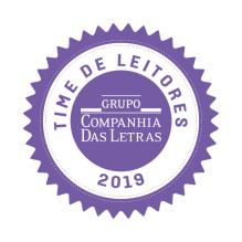 Selo Time de Leitores Grupo Companhia das Letras 2019