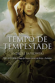 Tempo de Tempestade, livro spin-off de The Witcher