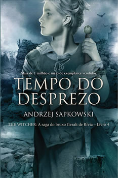 Capa do Livro Tempo do Desprezo Série The Witcher