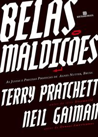 Capa do livro Belas Maldições, Neil Gaiman