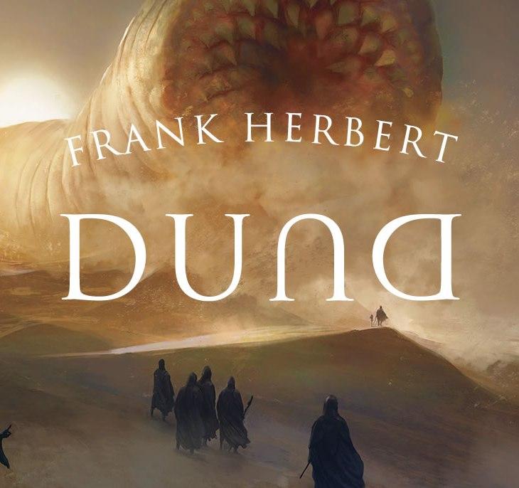Capa do livro Duna, com arte de Marc Simonetti, para a Editora Aleph