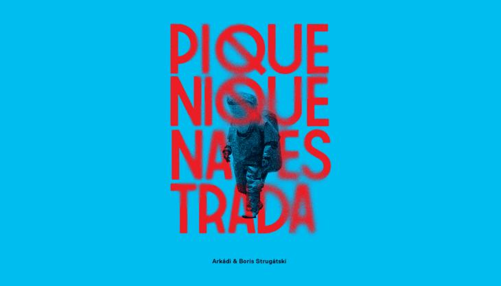 Capa do livro Piquenique na Estrada, pelos irmãos Strugátski, editora Aleph