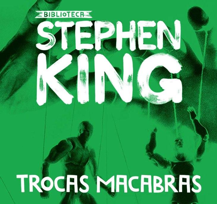 Capa da nova edição de Trocas Macabras, publicado pela Editora Suma